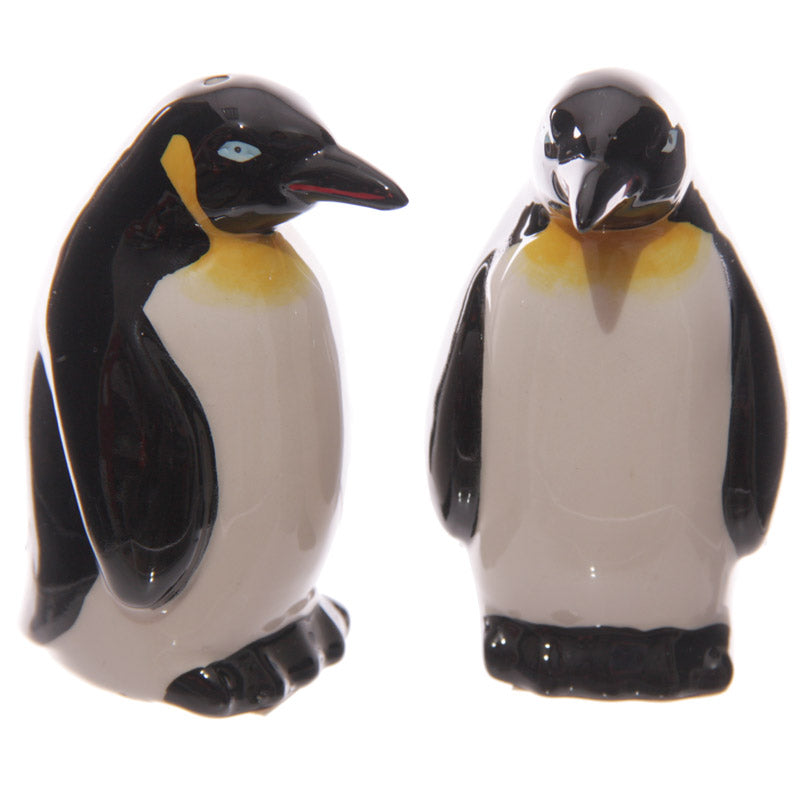 Penguin Bird Figurine Salt & Pepper Cruet Set