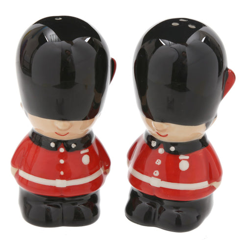 Red London Guardsman Figurine Salt & Pepper Cruet Set