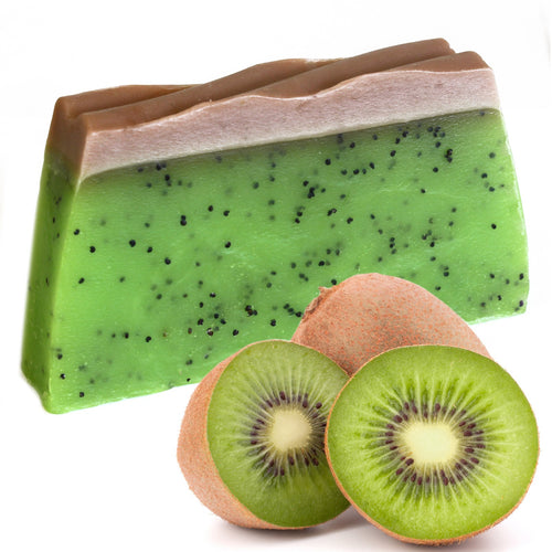 Green Kiwi Fruit Natural Tropical Handmade Soap Bar