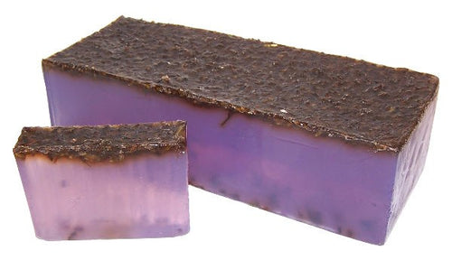 Purple Lavender Natural Handmade Soap Bar