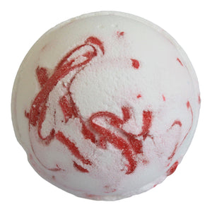 White & Red Tropical Strawberry Fruit Bath Bomb BUY 1 GET 1 FREE