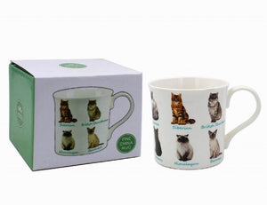 Multiple Cats Includes Himalayan Fine China Mug