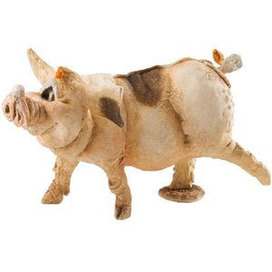 A Breed Apart Country Artists Pembroke Pig Ornament Figurine