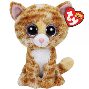 TY Beanie Boo Tabitha The Ginger Cat Soft Toy Teddy
