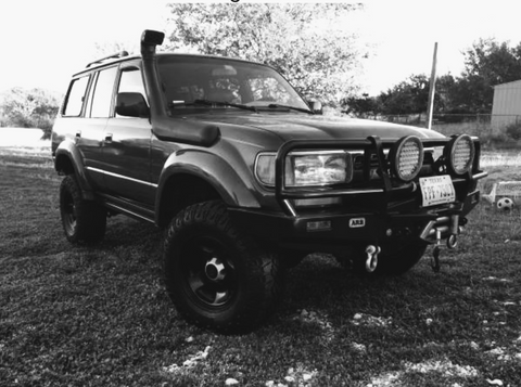 '93 Landcruiser named Jennifer