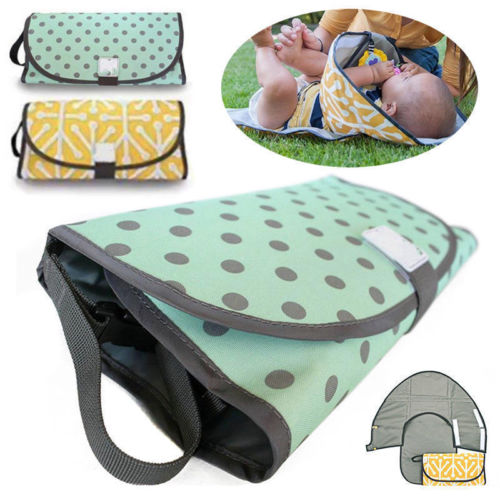 Portable Diaper Changing Clutch