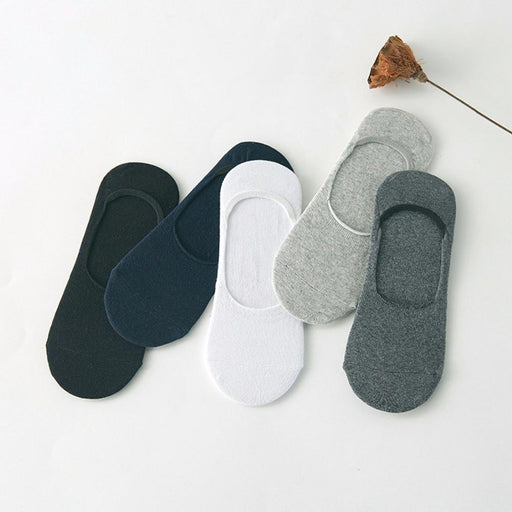 5 Pack Invisible Ankle Socks