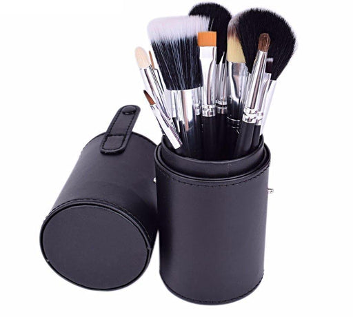 Travel 12 pcs Makeup Brush Kit