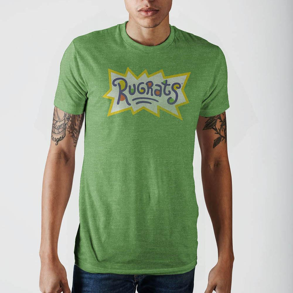 Rugrats Logo Kelly Heather T-Shirt