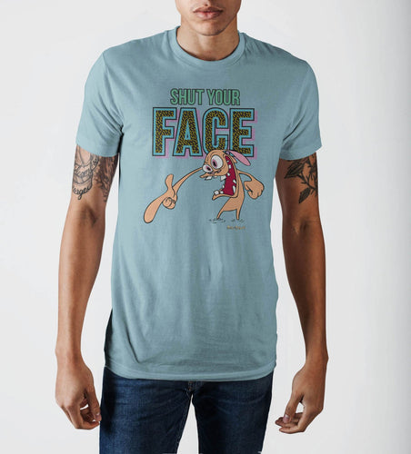 Shut Your Face Blue T-Shirt