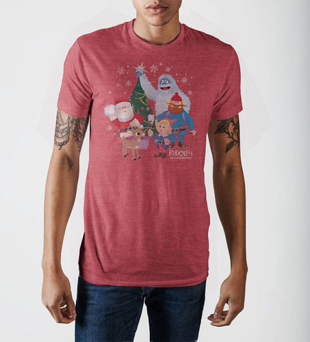 Rud Characters Red Heather T-Shirt