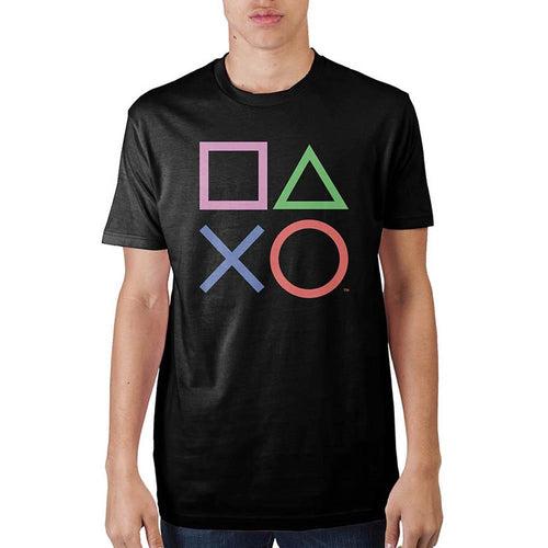 Playstation Black T-Shirt