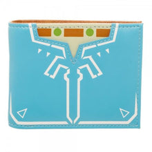 Zelda Breath Of The Wild Leather Bi-Fold Wallet