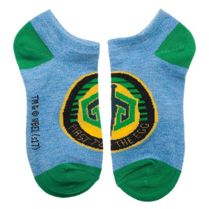 3 Pack Ready Player One Game Patch Socks, Juniors Ankle Sock Set, Gregarious Games, Parzival Gunter Patches