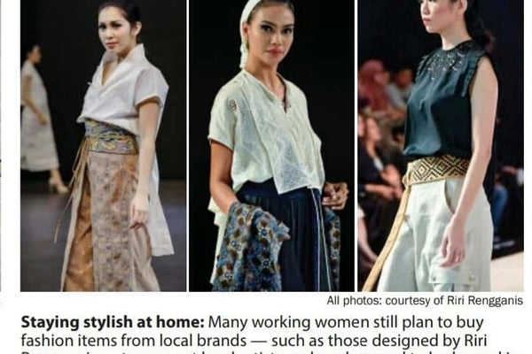 Jakarta Post : Local fashion brands diversify products, strengthen online presence