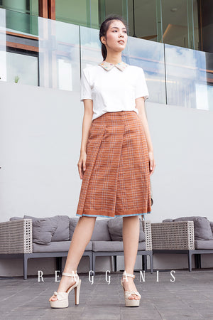 Baduy Uncut Pleated Skirt