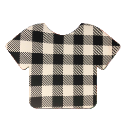 Pattern Heat Transfer Vinyl - Black and White Plaid