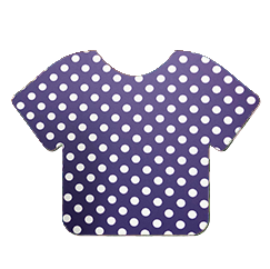 Pattern Heat Transfer Vinyl - Blue with White Dots