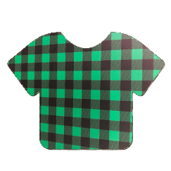 Pattern Heat Transfer Vinyl - Green Plaid