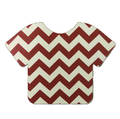 Pattern Heat Transfer Vinyl - Maroon Cheveron