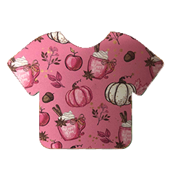 Pattern Heat Transfer Vinyl - Pink Pumpkin Patch