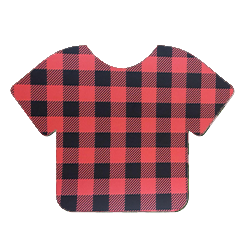 Pattern Heat Transfer Vinyl - Red and Black Plaid