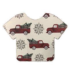 Pattern Heat Transfer Vinyl - Tree Farm