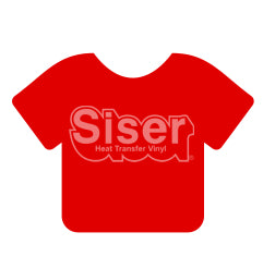 Siser EasyWeed Stretch Heat Transfer Vinyl - Bright Red 15""