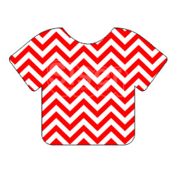Siser EasyPatterns™ Heat Transfer Vinyl - Chevron Red