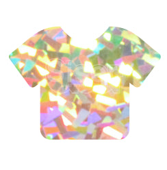 Siser Holographic Heat Transfer Vinyl - Crystal