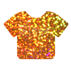 Siser Holographic Heat Transfer Vinyl - Gold