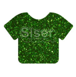 Glitter Heat Transfer Vinyl - Grass