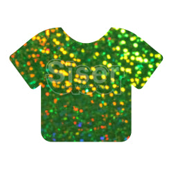 Siser Holographic Heat Transfer Vinyl - Green