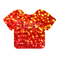 Siser Holographic Heat Transfer Vinyl - Orange