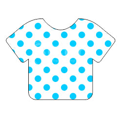 Siser EasyPatterns™ Heat Transfer Vinyl - Polka Dots Blue