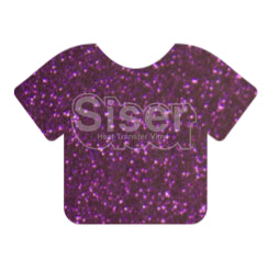 Glitter Heat Transfer Vinyl - Purple