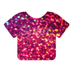Siser Holographic Heat Transfer Vinyl - Purple