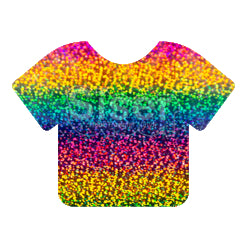 Siser Holographic Heat Transfer Vinyl - Rainbow