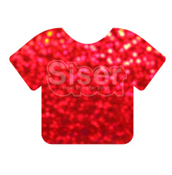 Siser Holographic Heat Transfer Vinyl - Red