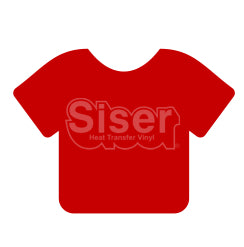 Siser EasyWeed Stretch Heat Transfer Vinyl - Red 15""