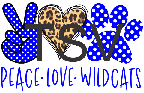 Peace Love Wildcats