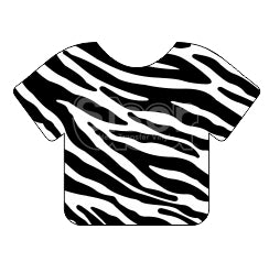 Siser EasyPatterns™ Heat Transfer Vinyl - Zebra Black