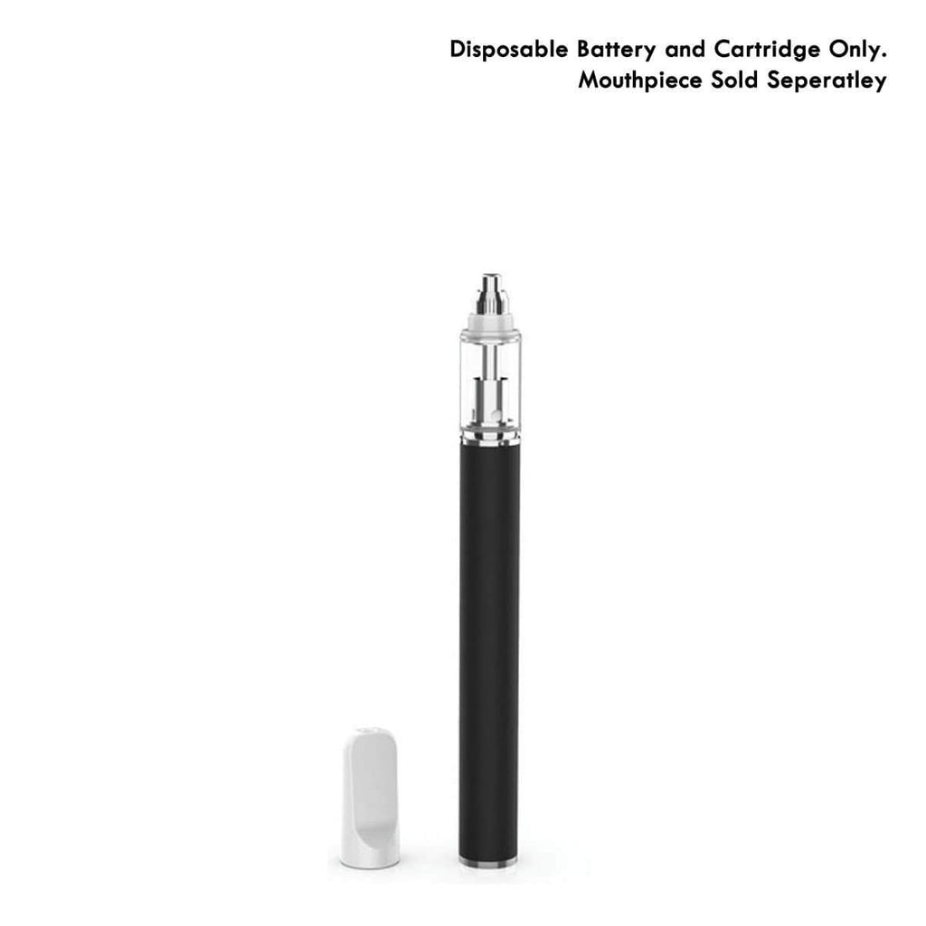 Black AVD Black Disposable Vape Cartridge (0.5 ml, 2.0mm)