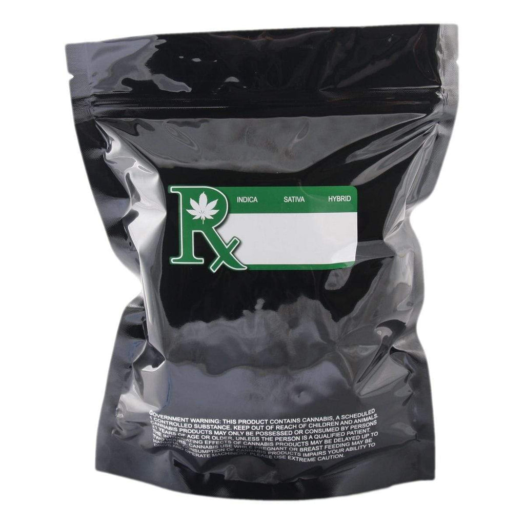 Black Smell Proof Mylar Bag (1/4 lbs.)