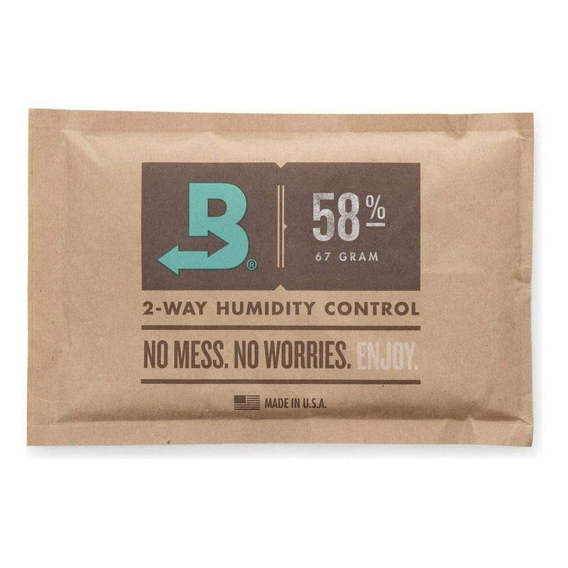 Boveda 58% RH (67 Gram) Single Pack