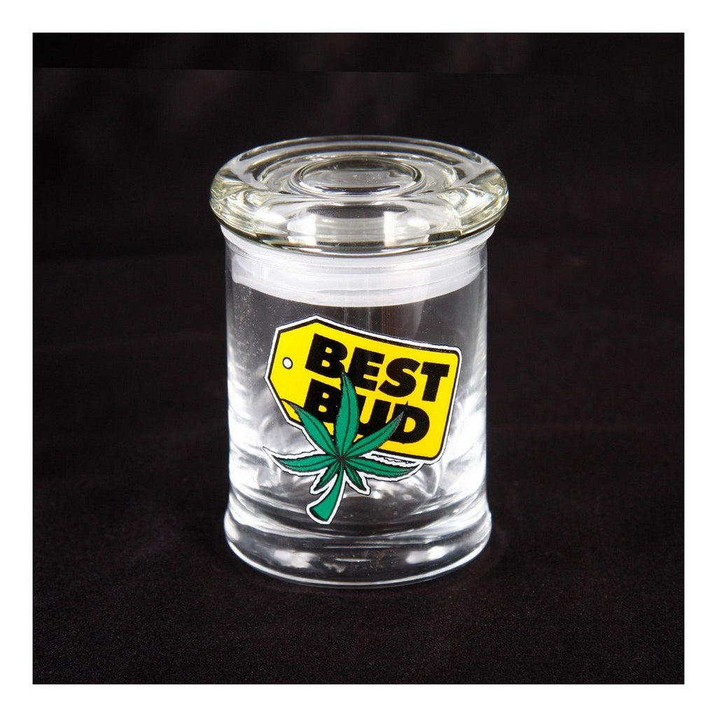 Brand King packaging-container BEST BUD Glass Stash Containers