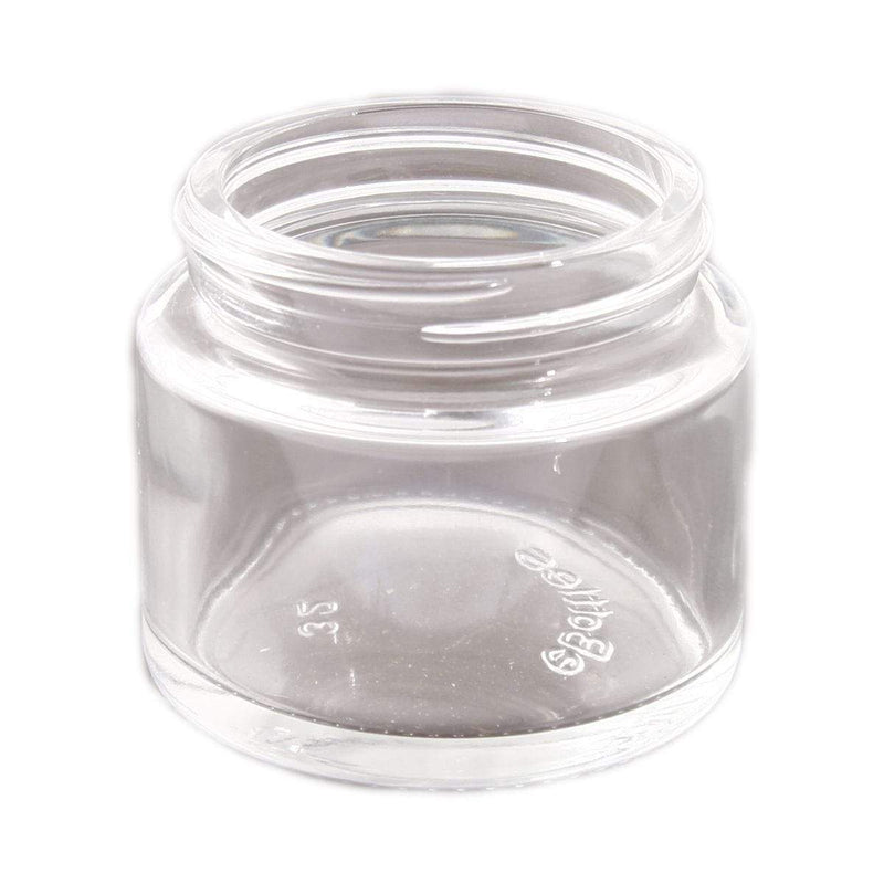 Clear eBottles 2 oz Straight Sided Child-Resistant Glass Jar