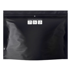Dymapak packaging-container BLACK DymaPak Child Resistant Exit Bag (Large)