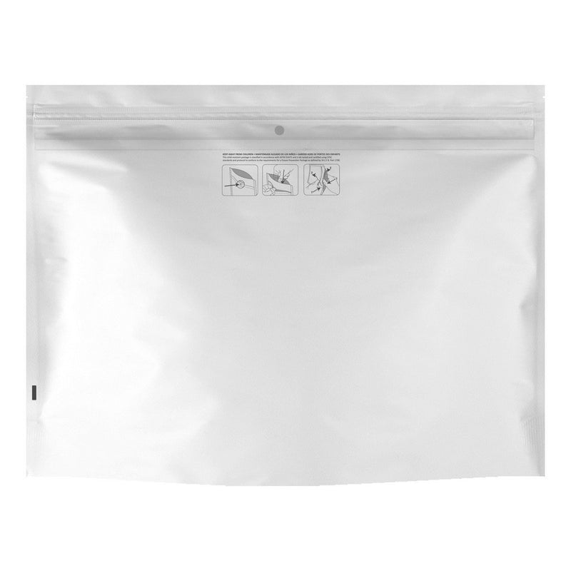 Dymapak packaging-container WHITE DymaPak Child Resistant Exit Bag (Large)