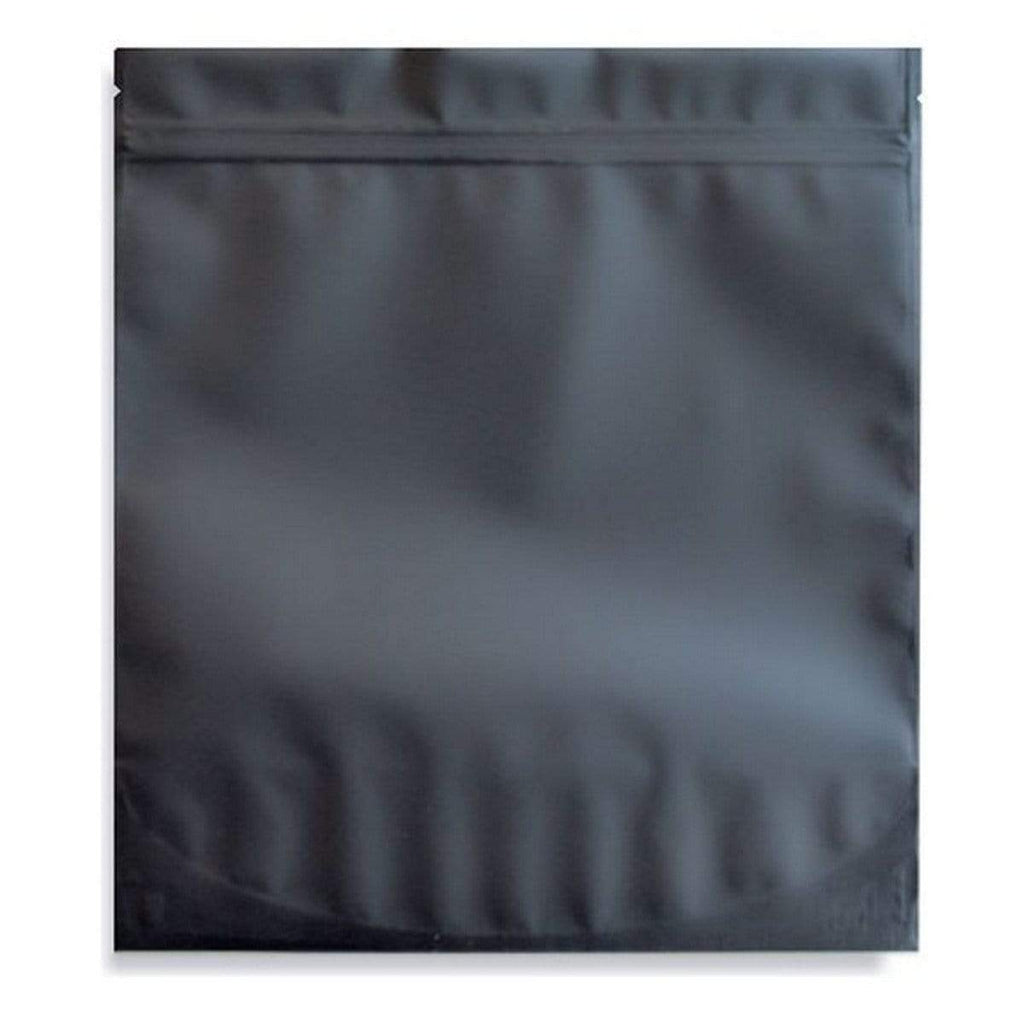 Matte Black Smell Proof Mylar (1lb) Pound Bag